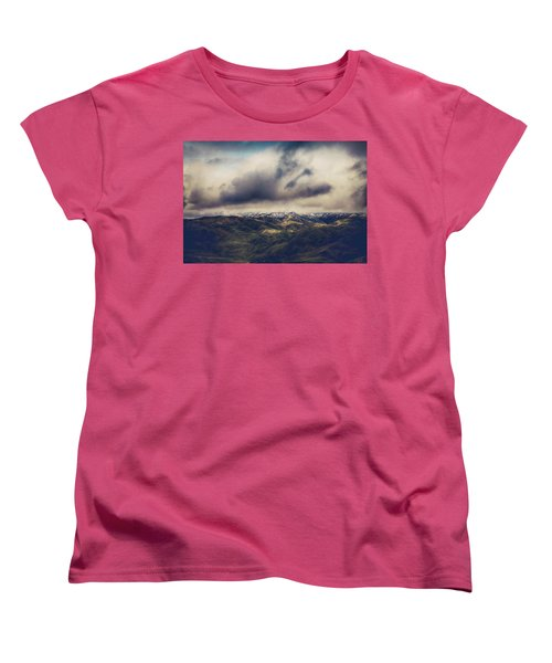 Women's T-Shirt (Standard Cut) featuring the photograph Undeniable by Laurie Search