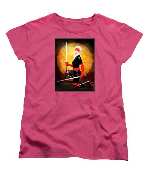 Under A Blood Moon Women's T-Shirt (Standard Cut)