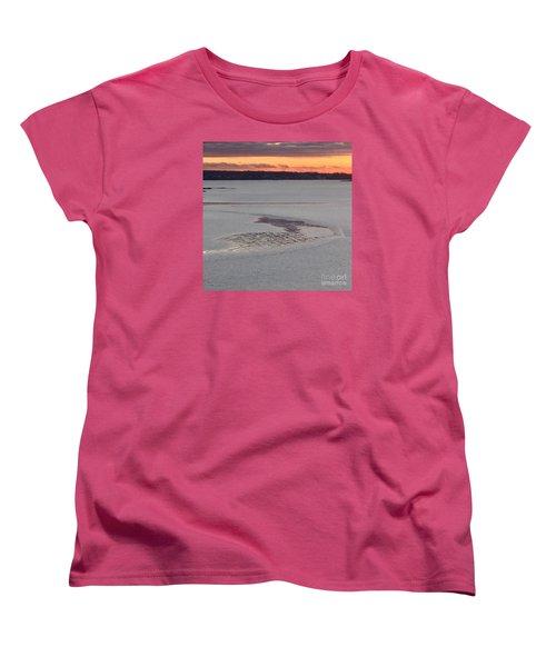 Undercurrents No. 2 Women's T-Shirt (Standard Cut) by Patricia E Sundik