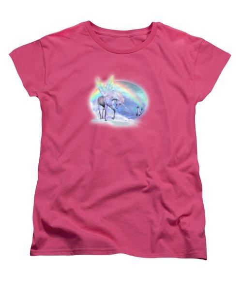 Unicorn Of The Rainbow Women's T-Shirt (Standard Cut)