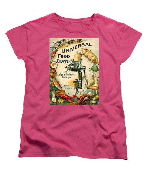 Universal Food Chopper 1897 Women's T-Shirt (Standard Cut) by Padre Art