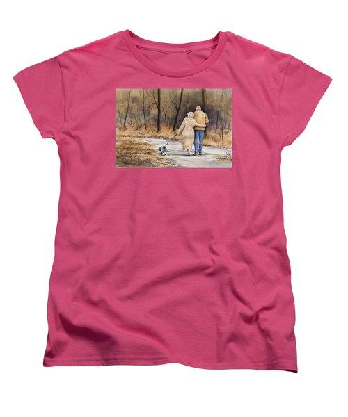 Unspoken Love Women's T-Shirt (Standard Cut) by Sam Sidders