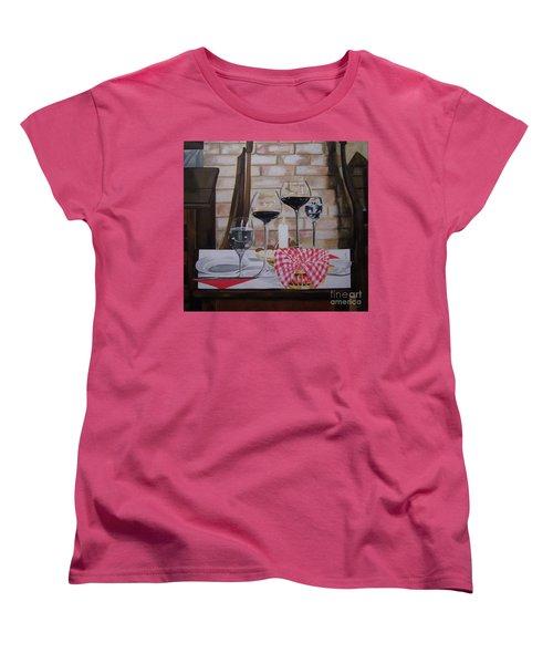 Untitled Women's T-Shirt (Standard Cut) by Chelle Brantley