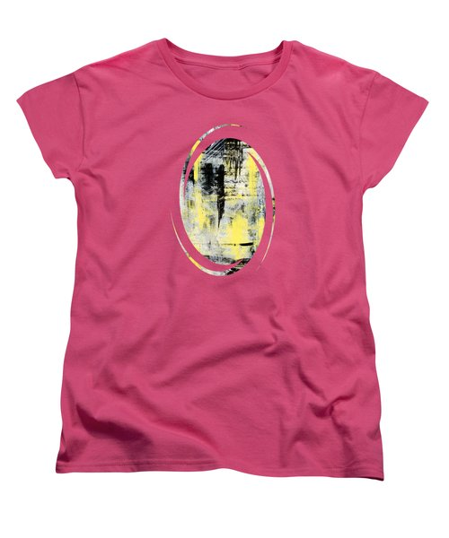 Urban Abstract Women's T-Shirt (Standard Cut) by Christina Rollo