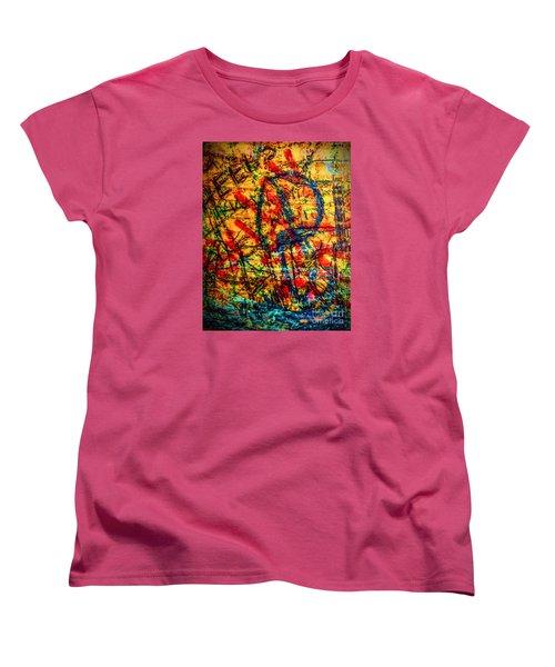 Women's T-Shirt (Standard Cut) featuring the photograph Urban Grunge Two by Ken Frischkorn