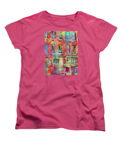 Urban Wall Women's T-Shirt (Standard Cut) by Susan Stone