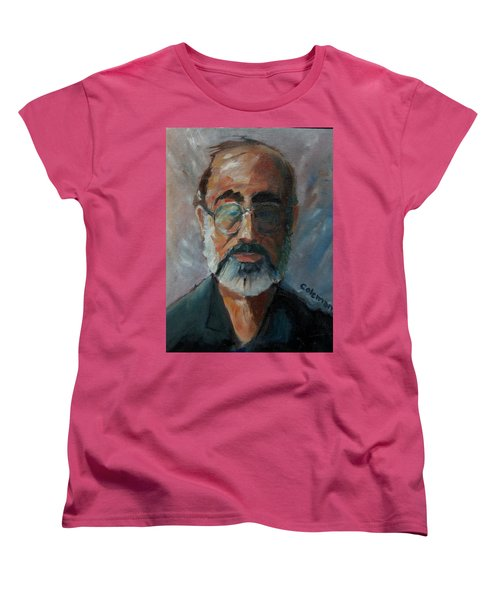 Women's T-Shirt (Standard Cut) featuring the painting Used To Be Me by Gary Coleman
