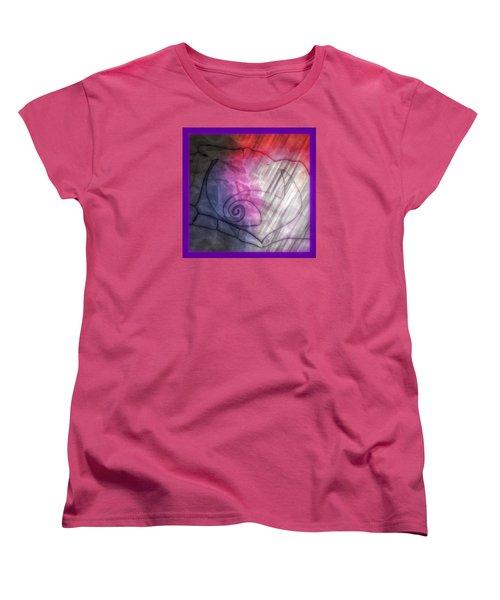 Valentines Jack And Sally Women's T-Shirt (Standard Cut) by Amanda Eberly-Kudamik