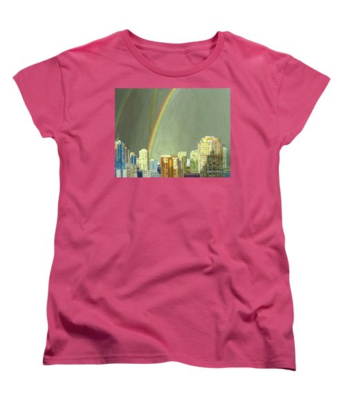 Vancouver Bc Women's T-Shirt (Standard Cut) by Lynne Reichhart