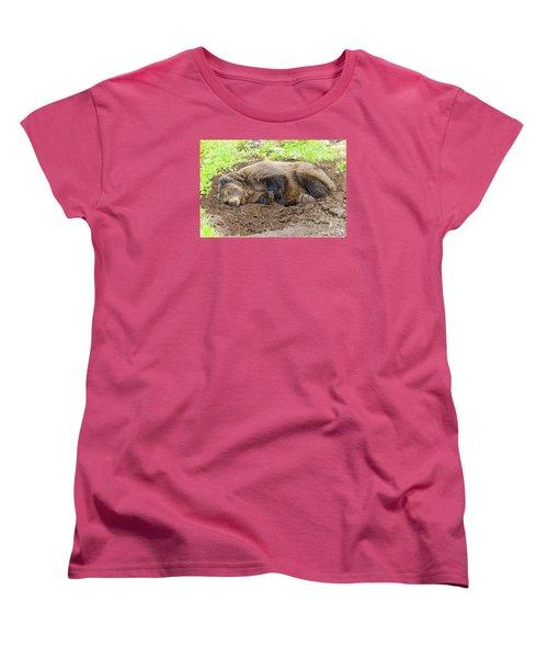 Veggin Out Women's T-Shirt (Standard Cut) by Harold Piskiel