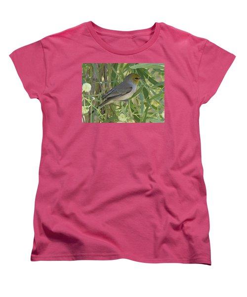 Verdin In Tree Women's T-Shirt (Standard Cut) by Anne Rodkin