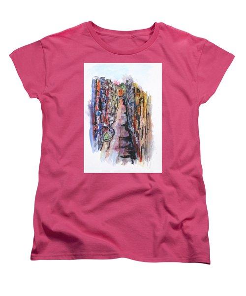 Vicolo De Napoli Women's T-Shirt (Standard Cut) by Clyde J Kell