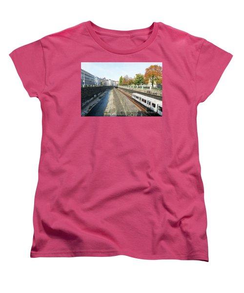 Vienna Canal Women's T-Shirt (Standard Cut) by Christian Slanec