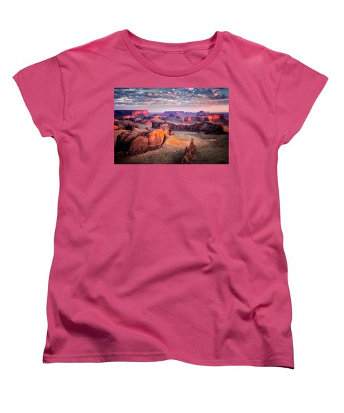 Views From The Edge  Women's T-Shirt (Standard Cut) by Nicki Frates