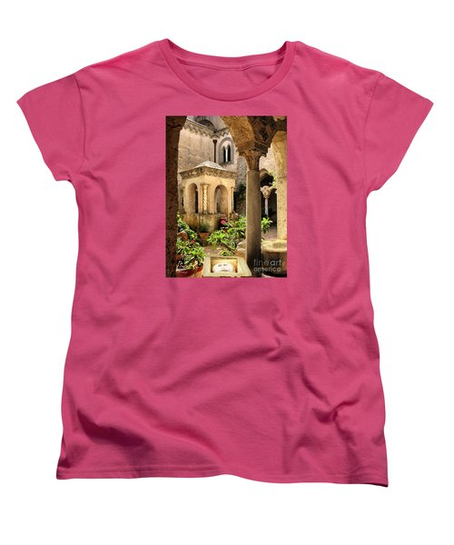 Villa Cimbrone. Ravello Women's T-Shirt (Standard Cut) by Jennie Breeze