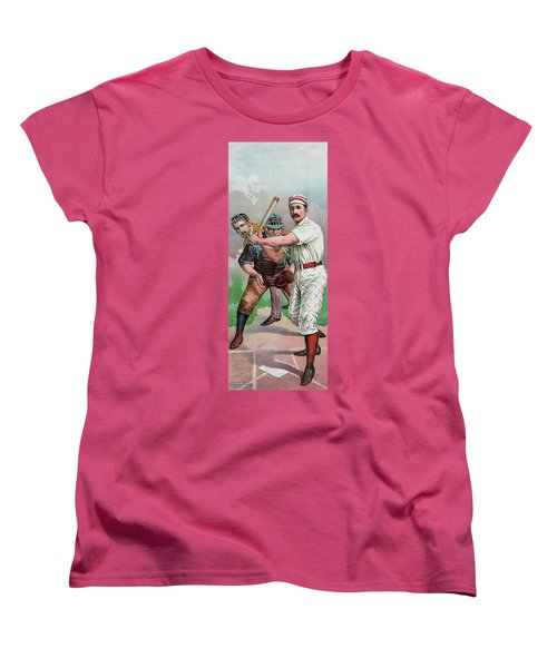 Vintage Baseball Card Women's T-Shirt (Standard Cut)