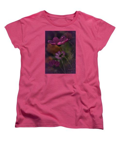 Vintage Cosmos Women's T-Shirt (Standard Cut) by Richard Cummings