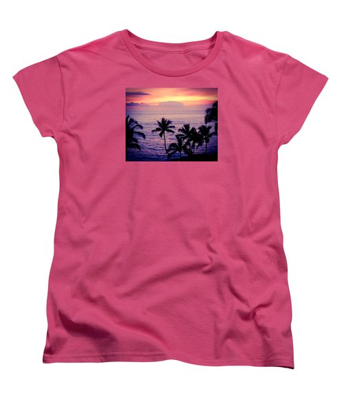 Vintage Hawaii Women's T-Shirt (Standard Cut) by Russell Keating