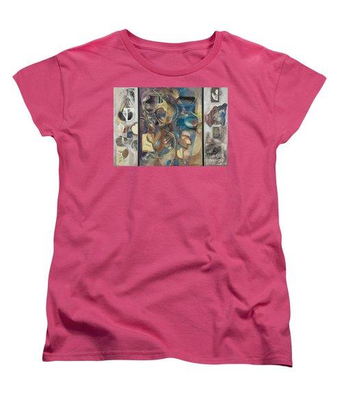 Visible Traces Women's T-Shirt (Standard Cut) by Kerryn Madsen-Pietsch
