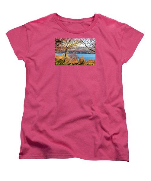 Vista From Garrett Chapel Women's T-Shirt (Standard Cut) by William Norton