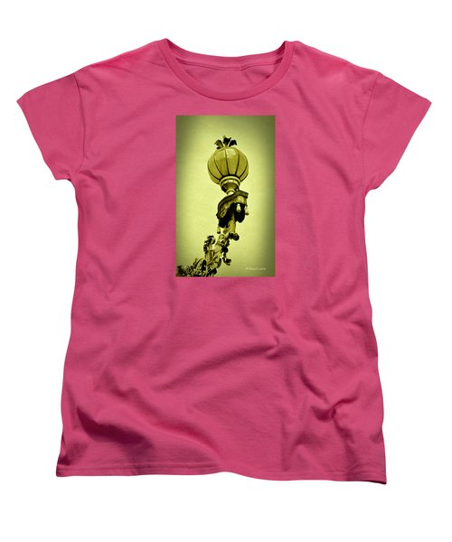 Vizcaya Lamp Women's T-Shirt (Standard Cut) by Edgar Torres