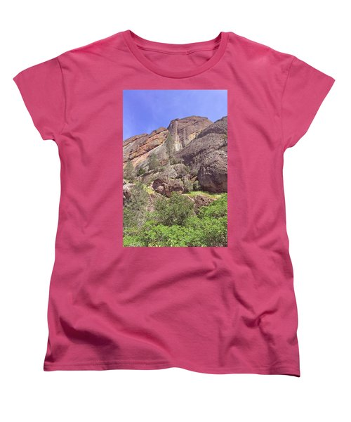 Women's T-Shirt (Standard Cut) featuring the photograph Volcanic Colors by Art Block Collections