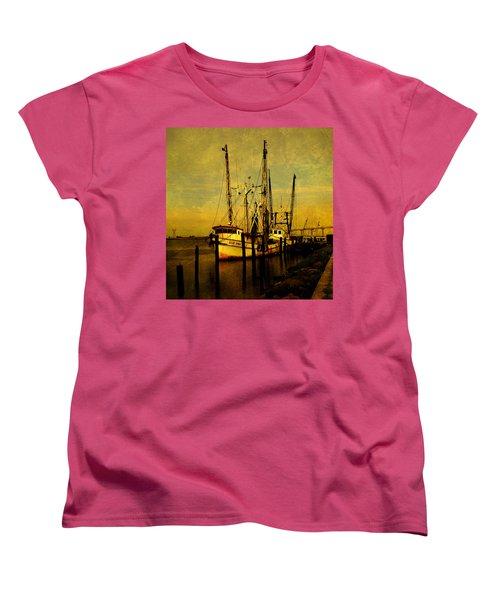 Waiting For Tomorrow Women's T-Shirt (Standard Cut) by Susanne Van Hulst