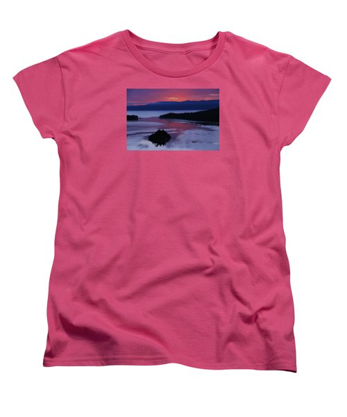 Women's T-Shirt (Standard Cut) featuring the photograph Wake Up In Lake Tahoe  by Sean Sarsfield