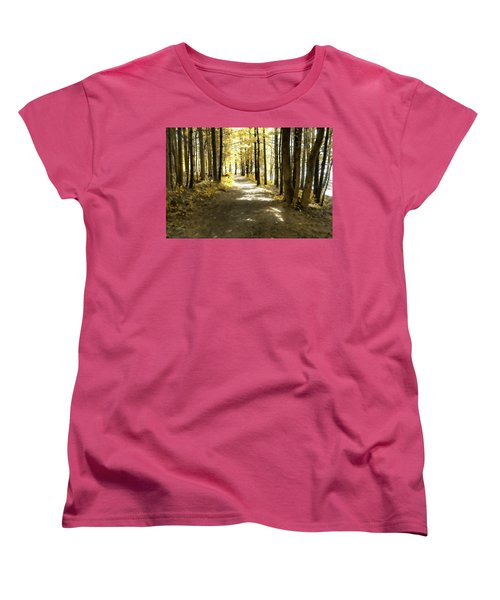 Walk In The Woods Women's T-Shirt (Standard Cut)
