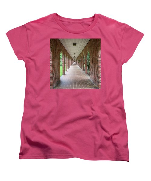 Women's T-Shirt (Standard Cut) featuring the photograph Walk Of Honor 3 by Gregory Daley  PPSA