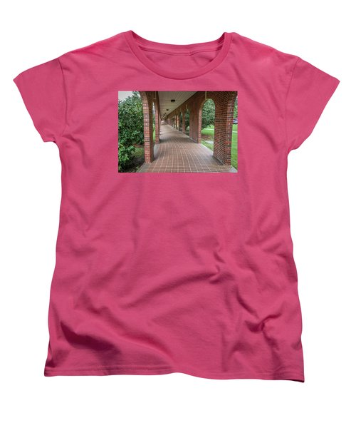 Women's T-Shirt (Standard Cut) featuring the photograph Walk Of Honor 6 by Gregory Daley  PPSA