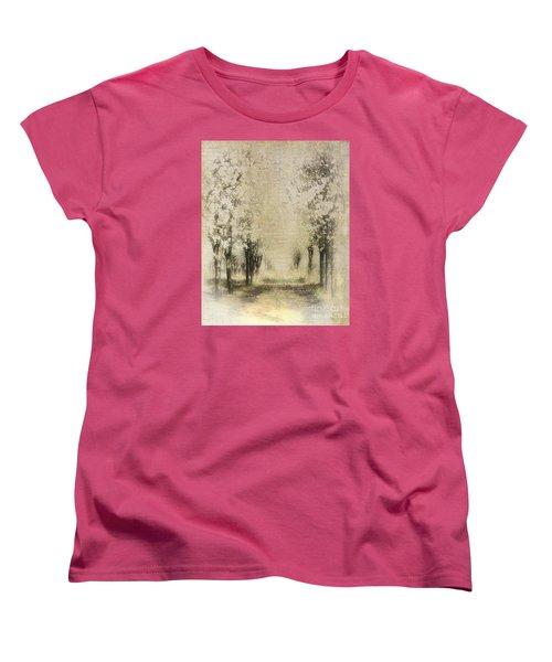 Walking Through A Dream IIi Women's T-Shirt (Standard Cut) by Dan Carmichael
