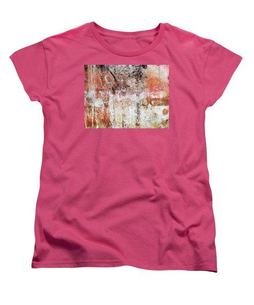 Wall Abstract  183 Women's T-Shirt (Standard Cut) by Maria Huntley
