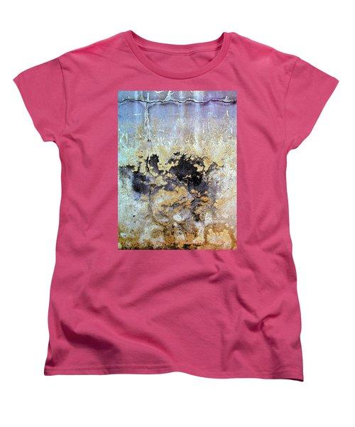 Wall Abstract 68 Women's T-Shirt (Standard Cut) by Maria Huntley
