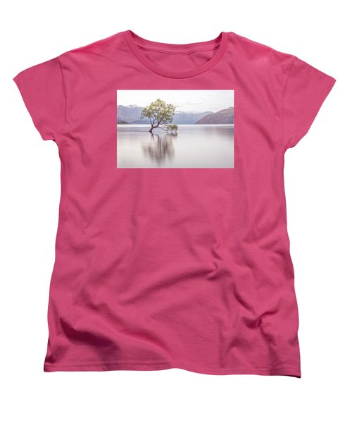 Wanaka Tree Women's T-Shirt (Standard Cut) by Racheal Christian