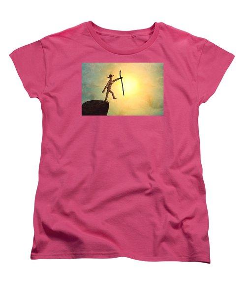 Wanderlust Women's T-Shirt (Standard Cut) by Mark Fuller