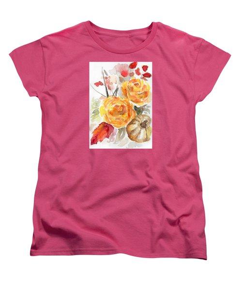 Warm Autumn Women's T-Shirt (Standard Cut) by Arleana Holtzmann