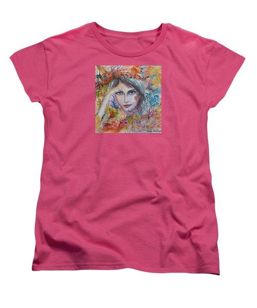 Warm Autumn Women's T-Shirt (Standard Cut) by Rita Fetisov