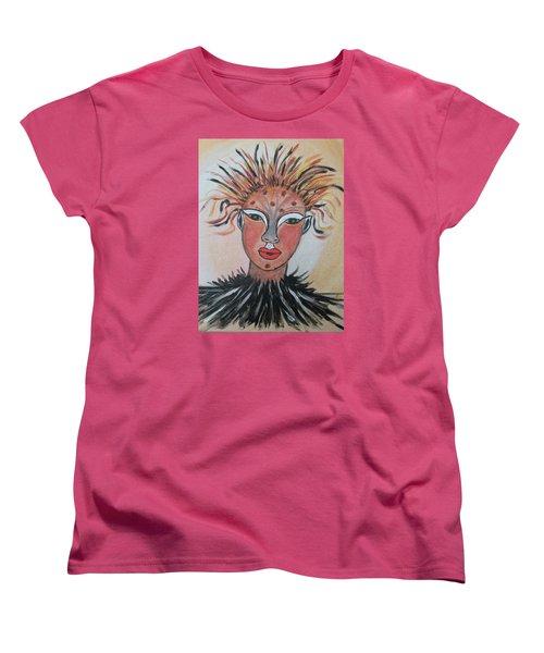 Warrior Woman  #3 Women's T-Shirt (Standard Cut) by Sharyn Winters