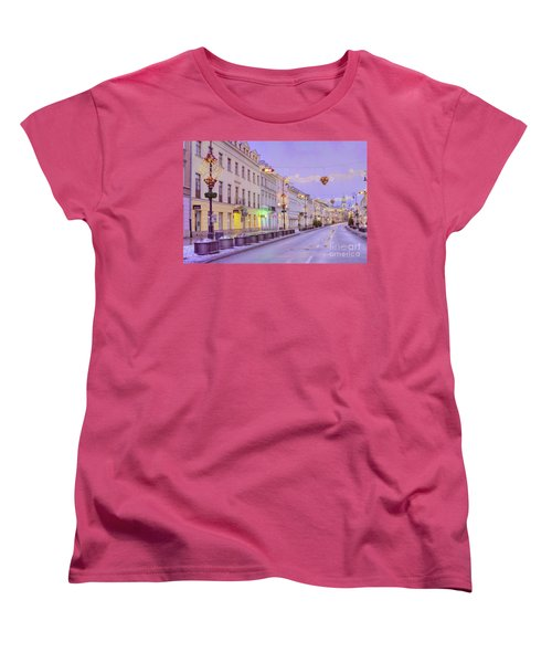 Women's T-Shirt (Standard Cut) featuring the photograph Warsaw by Juli Scalzi