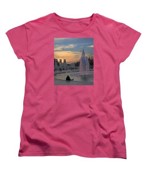 Washington Dc Rhythms  Women's T-Shirt (Standard Cut) by Betsy Knapp