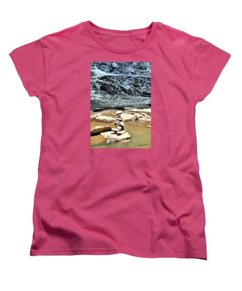 Water And Stone Women's T-Shirt (Standard Cut) by James Potts