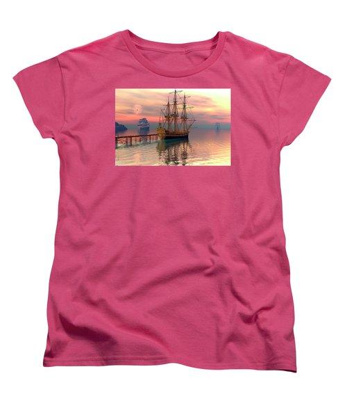 Water Traffic Women's T-Shirt (Standard Cut)