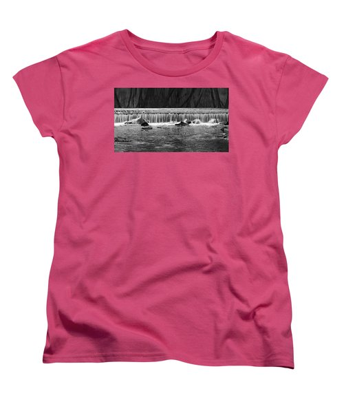 Waterfall004 Women's T-Shirt (Standard Cut)