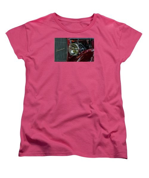 Women's T-Shirt (Standard Cut) featuring the photograph Waupaca Streetrod by Trey Foerster