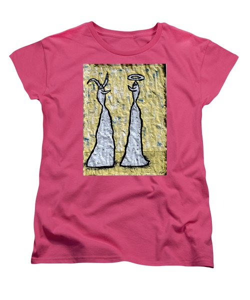 We Are Much Alike You And I Women's T-Shirt (Standard Cut) by Mario Perron
