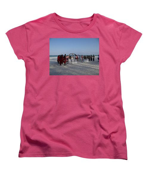 wedding with Maasai singers Women's T-Shirt (Standard Fit)