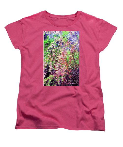 Weeping Cherry Women's T-Shirt (Standard Cut) by Holly Martinson