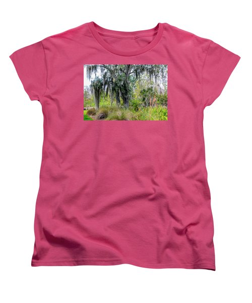 Women's T-Shirt (Standard Cut) featuring the photograph Weeping Willow by Madeline Ellis