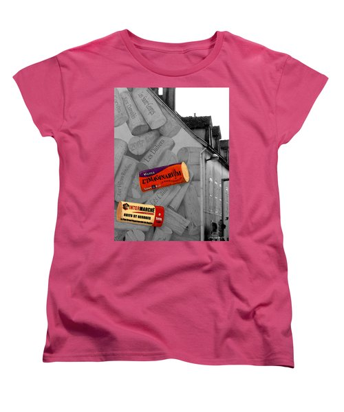 Women's T-Shirt (Standard Cut) featuring the photograph Welcome To Bordeaux by Joan  Minchak